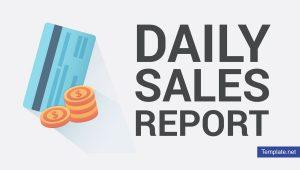 المبيعات اليومية