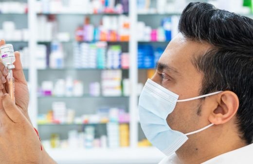 A pharmacist is not a salesman and is not a doctor